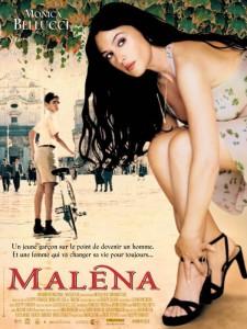 "Affiche du film ""Malena"""