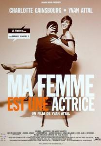 """Affiche du film """"Ma femme est une actrice"""""""