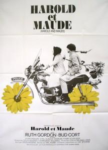 """Affiche du film """"Harold et Maude"""""""