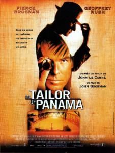 """Affiche du film """"Le tailleur de Panama"""""""