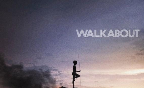 "Affiche du film ""Walkabout"""