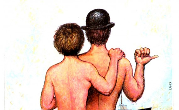 "Affiche du film ""Charles et Lucie"""