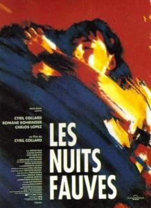 """Affiche du film """"Les Nuits Fauves"""""""