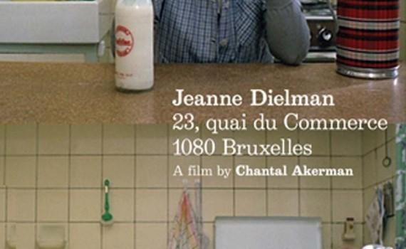 """Affiche du film """"Jeanne Dielman, 23 Quai du Commerce, 1080 Bruxelles"""""""