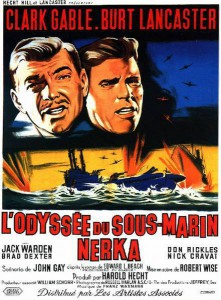 "Affiche du film ""L'Odyssée du sous-marin Nerka"""