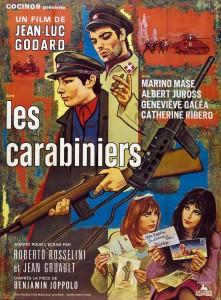 """Affiche du film """"Les carabiniers"""""""