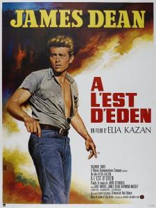"""Affiche du film """"À l'est d'Éden"""""""