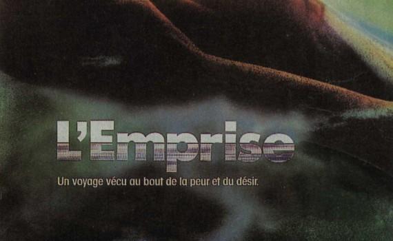 """Affiche du film """"L'emprise"""""""