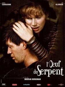"""Affiche du film """"L'Œuf du serpent"""""""