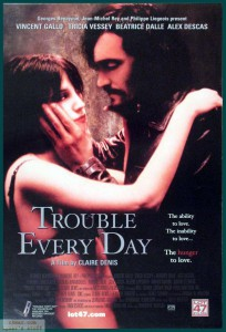 """Affiche du film """"Trouble Every Day"""""""