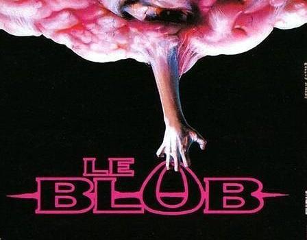 """Affiche du film """"Le Blob"""""""