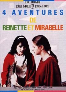 """Affiche du film """"4 aventures de Reinette et Mirabelle"""""""
