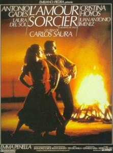 """Affiche du film """"El amor brujo"""""""