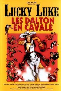 """Affiche du film """"Lucky Luke: Les Dalton en cavale"""""""