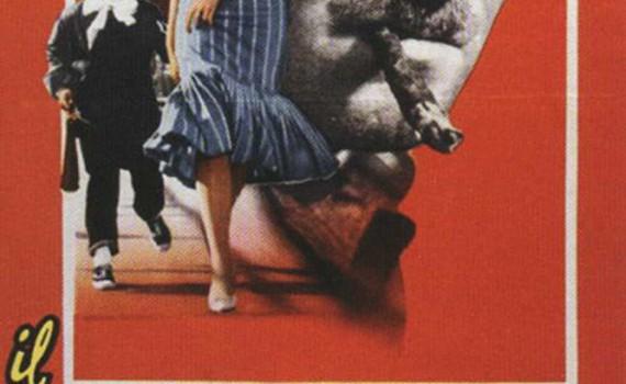 """Affiche du film """"Le disque rouge"""""""