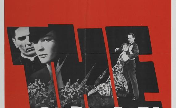 """Affiche du film """"Le Cardinal"""""""