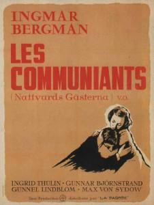 """Affiche du film """"Les Communiants"""""""