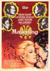 "Affiche du film ""Mayerling"""