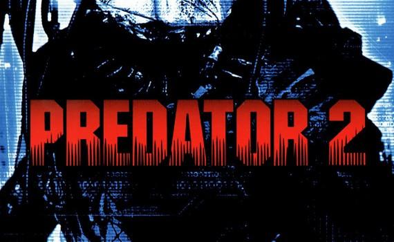 """Affiche du film """"Predator 2"""""""