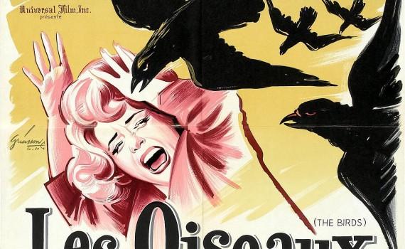 """Affiche du film """"Les oiseaux"""""""