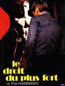 """Affiche du film """"Le Droit du plus fort"""""""