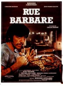 """Affiche du film """"Rue barbare"""""""