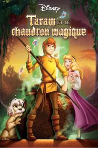 """Affiche du film """"Taram et le chaudron magique"""""""