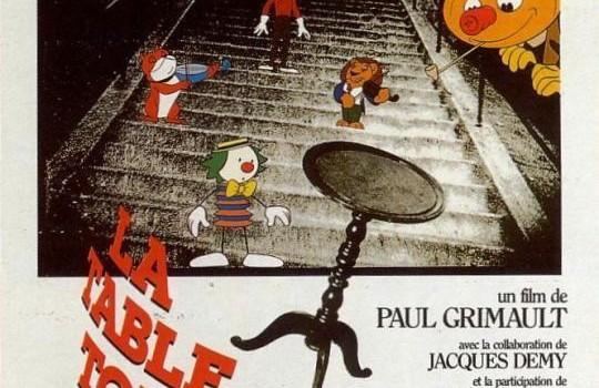 """Affiche du film """"La Table Tournante"""""""