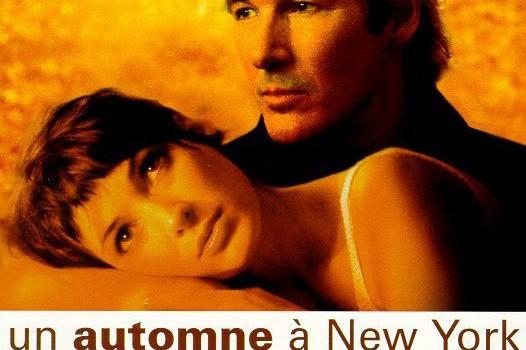 """Affiche du film """"Un Automne à New York"""""""