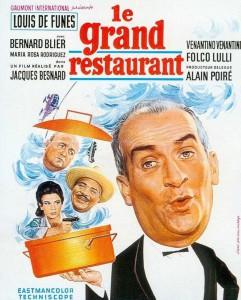 """Affiche du film """"Le Grand Restaurant"""""""