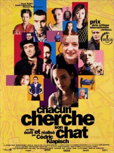 """Affiche du film """"Chacun Cherche Son Chat"""""""