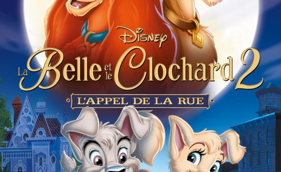 """Affiche du film """"La belle et le clochard 2 : L'appel de la rue"""""""