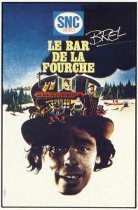 """Affiche du film """"Le bar de la fourche"""""""