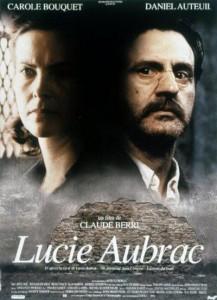 "Affiche du film ""Lucie Aubrac"""