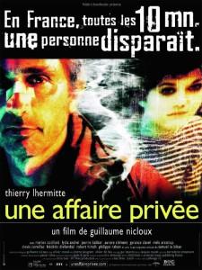 """Affiche du film """"Une Affaire privée"""""""