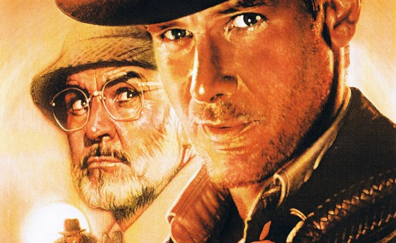 """Affiche du film """"Indiana Jones et la dernière croisade"""""""