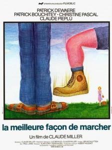 """Affiche du film """"La Meilleure Façon De Marcher"""""""