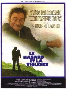 """Affiche du film """"Le hasard et la violence"""""""