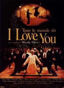 """Affiche du film """"Tout le monde dit I love you"""""""