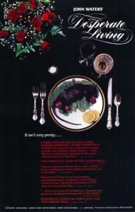 """Affiche du film """"Desperate Living"""""""