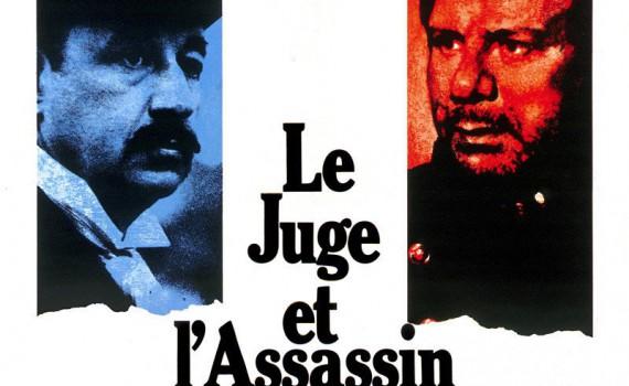 """Affiche du film """"Le juge et l'assassin"""""""