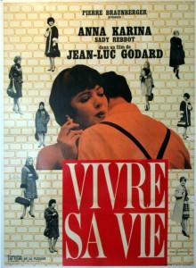 """Affiche du film """"Vivre sa vie: film en douze tableaux"""""""