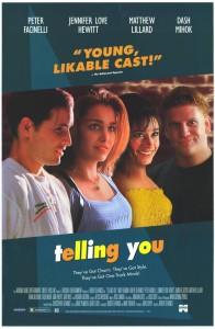 "Affiche du film ""Telling You"""