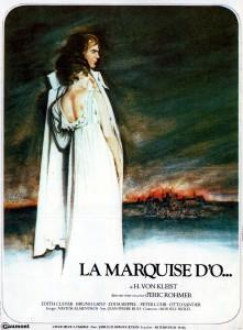 """Affiche du film """"La Marquise d'O"""""""