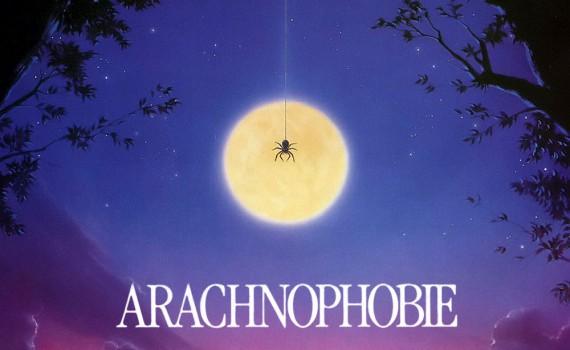 "Affiche du film ""Arachnophobie"""