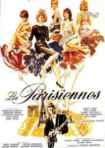 """Affiche du film """"Les parisiennes"""""""