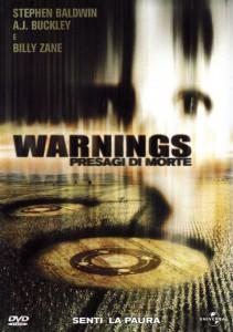 """Affiche du film """"Warnings, les signes de la peur"""""""