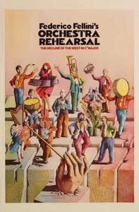 """Affiche du film """"Répétition d'orchestre"""""""