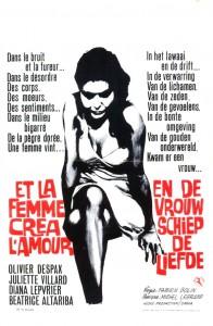 """Affiche du film """"Et la femme créa l'amour"""""""