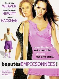 """Affiche du film """"Beautés empoisonnées"""""""